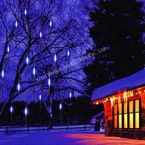 meteor shower lights led meteor shower light outdoor meteor snow shower