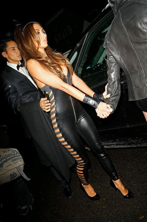 Cat Time Black Leather lovely in leather scherzinger in a leather
