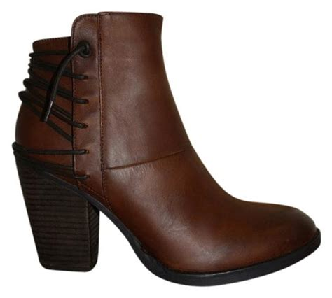 Steve Madden 5 5 by Steve Madden New Raglin Ankle 8 5 Cognac Boots On Sale 24 Boots Booties On Sale