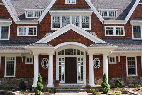 Interior Columns For Homes dazzling cedar shake siding trend philadelphia victorian