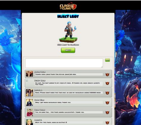 tema oppo coc script phising coc injectloot ice wizard update mgkencana