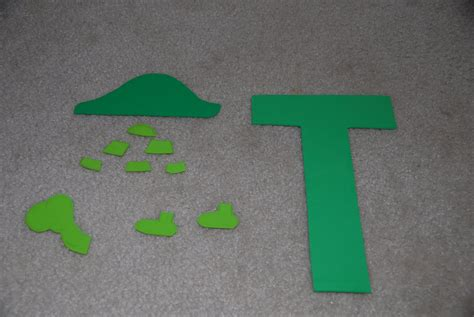 craft project for letter t crafts preschool and kindergarten