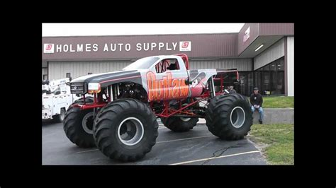 outlaw monster truck outlaw monster truck shop cam build youtube