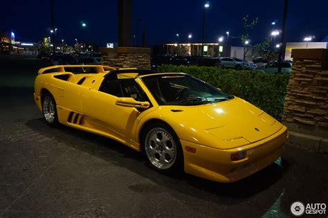 Auto Diablo by Lamborghini Diablo Vt 6 0 Roadster 19 May 2017 Autogespot