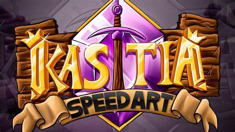 kastia minecraft server logo speedart youtube