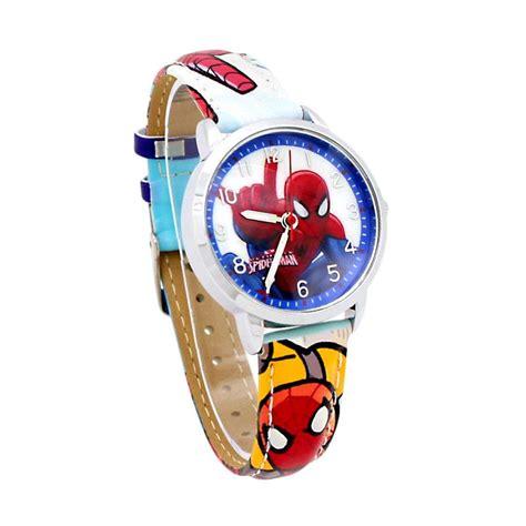Jam Tangan Mewah Anak Muda jual marvel asm81034 l jam tangan anak biru muda harga kualitas terjamin