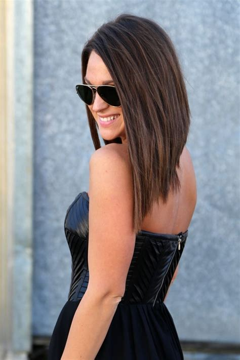 how to cut angled bob haircut myself 481 best images about medium length on pinterest medium