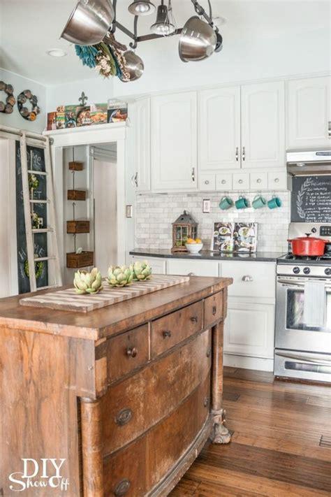 dresser kitchen island best 25 dresser kitchen island ideas on diy
