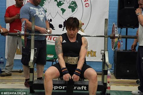 uk bench press record the british grandmother who is breaking world