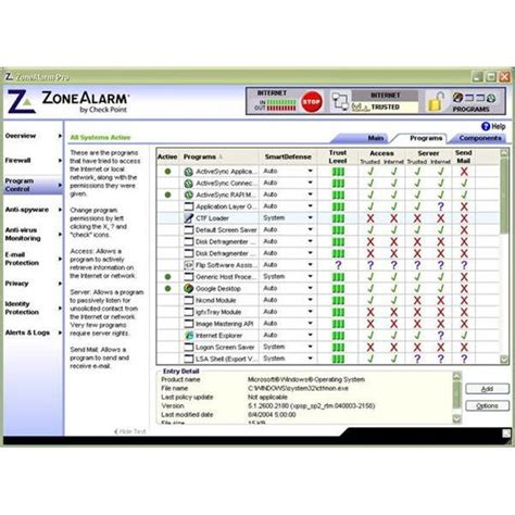 zonealarm pro review an excellent firewall solution from