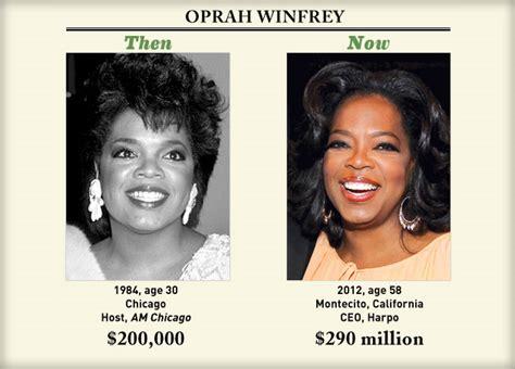 Oprah Winfrey The Target Of 15 Million Scheme by Salaries Then Now