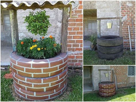 15# DIY Creative Ideas to Old Tires   The ART in LIFE