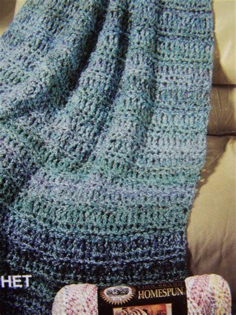 knitting pattern homespun yarn usa specials lion brand homespun waterfall crochet and