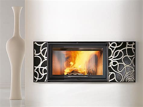 modern wood burning fireplace inserts