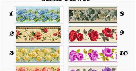 border wallpaper dinding bandung wallpaper border dinding motif bunga dan minimalis