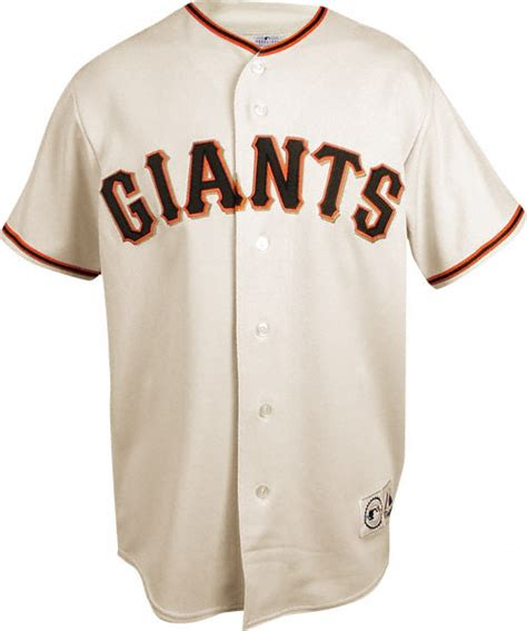 san francisco giants home ivory youth replica jersey