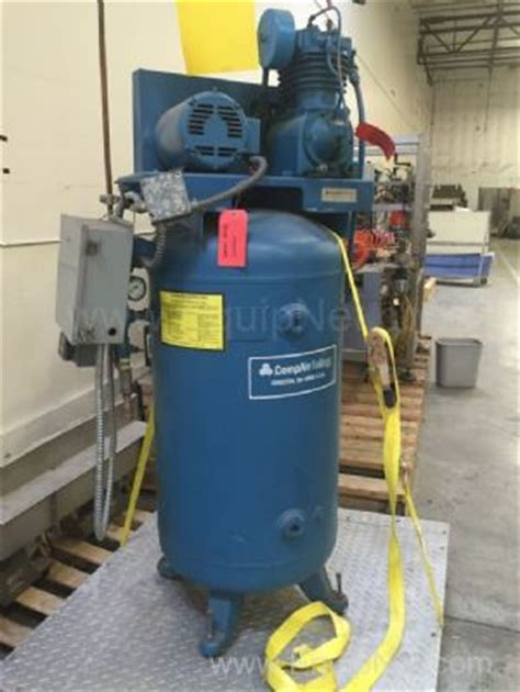 compair kellogg b335ub air compressor listing 519757