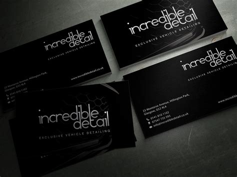 Auto Detailing Business Card Template Free by Car Detailing Business Cards Entry 28 Sashadesigns For