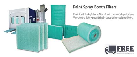 spray paint booth spray booth filters and other hvac supplies factory