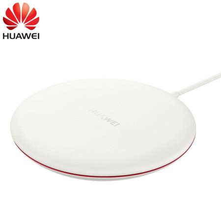 official huawei mate  pro fast wireless charging pad  white