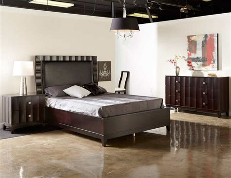 bedroom furniture nj modern bed collection nj 12 in brown leatherette modern