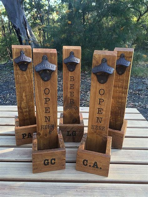 personalised gifts ideas personalised beer bottle opener
