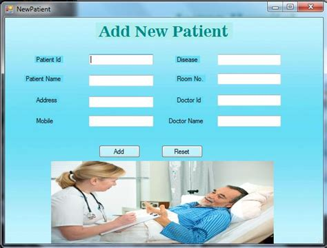 Mba Hospital Administration Projects by Free Hospital Management System C Net Project