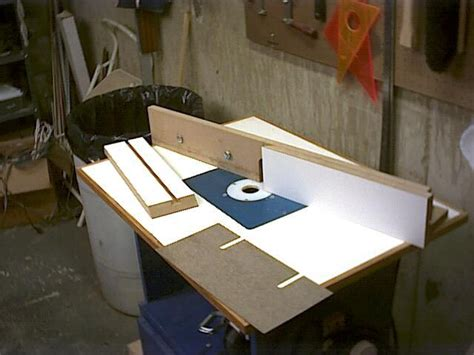router table fence woodworking pinterest workshop