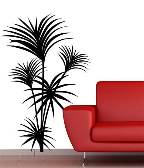 veldeco palm tree wall stickers black buy veldeco palm