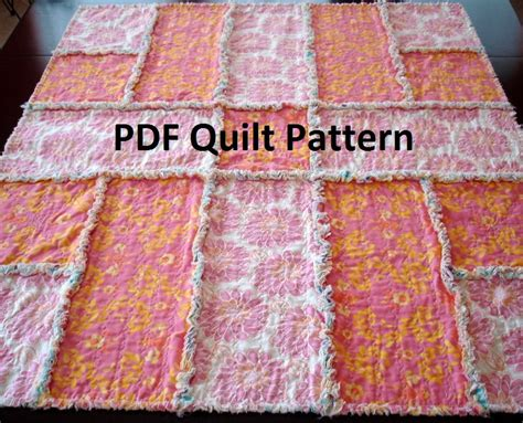 Easy Rag Quilt Patterns by Unavailable Listing On Etsy