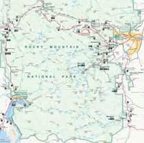 maps discover estes park colorado