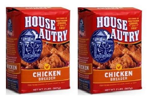 house autry house autry original chicken breader pack of 2 2 pound bags