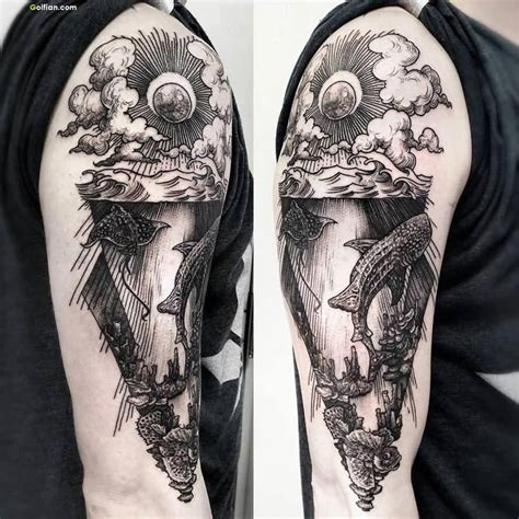 sun sleeve tattoo designs 50 awesome arm designs best sleeve