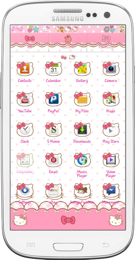 go launcher themes hello kitty apk pretty droid themes hello kitty travel go launcher theme