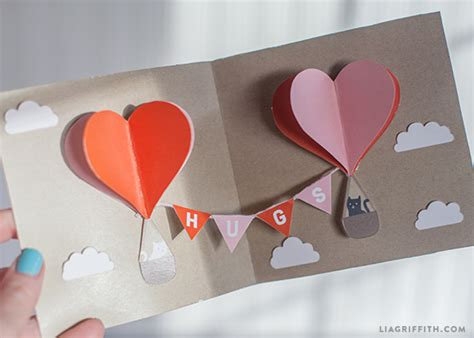 diy s day card template make your own diy pop up card today