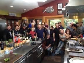 Guy Fieri S Home Kitchen Design by Sammy Hagar Joins Guy Fieri In The Kitchen Photo