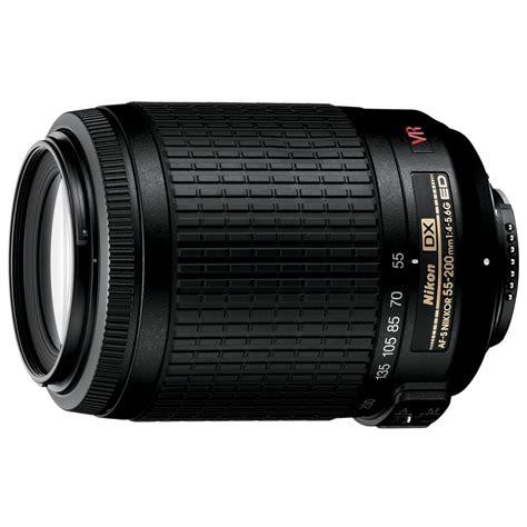 nikon 2166 zoom nikkor lens 55 200mm sears outlet