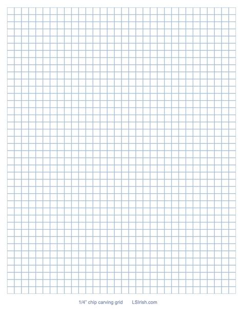 free printable quarter inch graph paper how to transfer a chip carving pattern using graphing