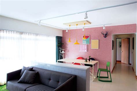 3 trendy hdb flat homes with monochromatic colour schemes 4 trendy hdb flat homes featuring pops of colour home