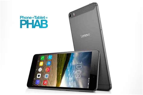 Lenovo Phab Plus lenovo phab plus with 6 8 inch display specs price and features techno guide