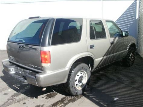 purchase used 1998 chevy blazer 4x4 in bethel ohio united states buy used 1998 chevy blazer 4x4 asset 10057 in denver colorado united states for us 3 000 00