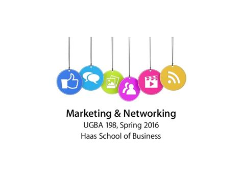 Marketing Mba Overview marketing networking course overview
