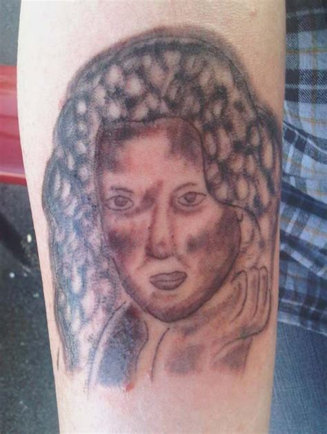 bad tattoo portraits 17 of the worst bad tattoos that define fail team jimmy joe