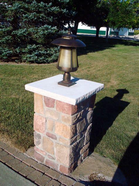 Driveway Light Post by Appliances Lighting Kirk Wylie Masonry