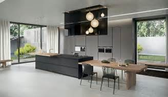 Contemporary Island Kitchen by Sophisticated Contemporary Kitchens With Cutting Edge Design