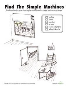 simple machines printable workbook education com