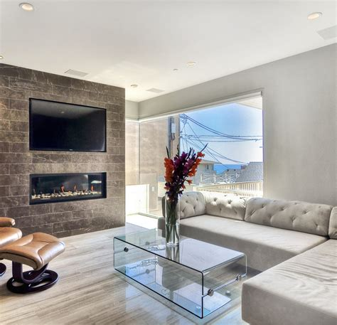 Marble Living Room by Coco Marble Fireplace Haisa Light Marble Floor Modern