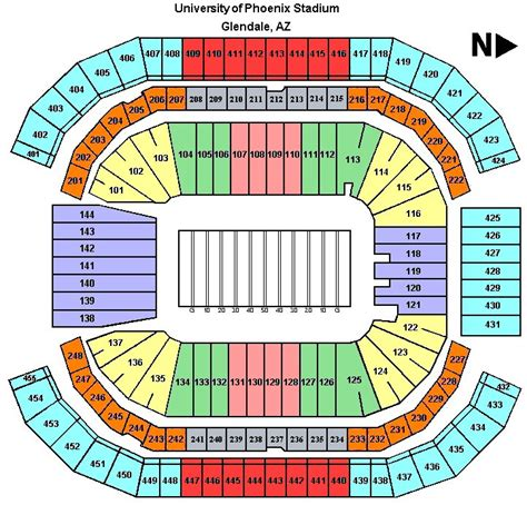 arizona cardinals seating chart prices bowl tickets bowl football tickets