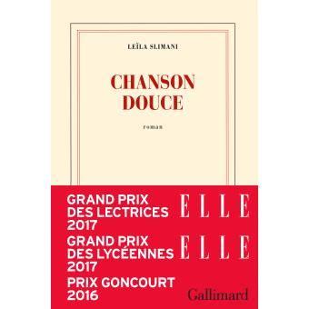 chanson douce blanche french chanson douce prix goncourt 2016 broch 233 le 239 la slimani achat livre achat prix fnac