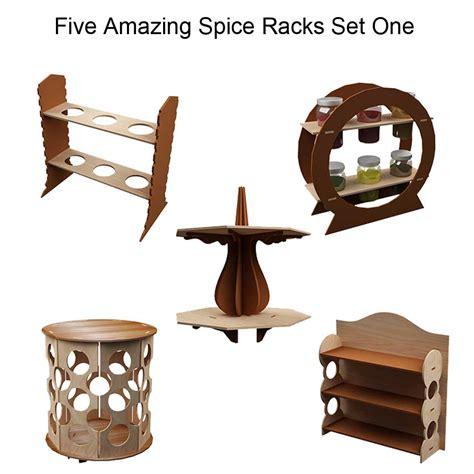 Amazing Spice Racks Amazing Spice Racks Set One Spice Racks Makecnc